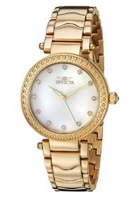 Invicta Women's 23964 Wildflower Quartz 3 Hand White Dial Watch