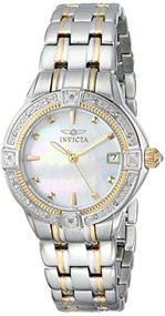 Invicta Women's 0267 II Collection Diamond Accented Two-Tone Stainless Watch ...
