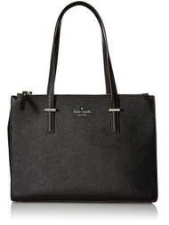 kate spade new york Cedar Street Small Jensen Tote Bag, Black, One Size PXRU5