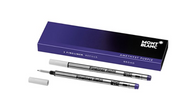 Montblanc 111433 Amethyst Purple Broad Fineliner Pen Refills, (Pack of 2)