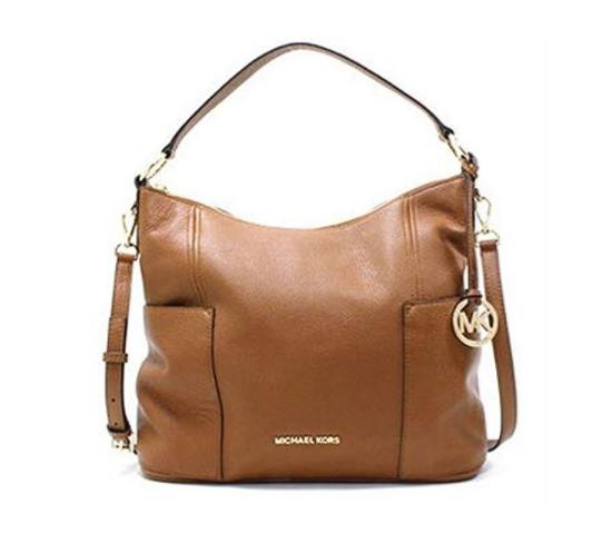 4f07280a3d00 ... Michael Kors Anita Medium Convertible Handbag Luggage 35H7GA8L7L-230.  Image 1