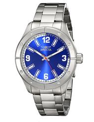 Invicta Men's 17926 Specialty Quartz 3 Hand Blue Dial Watch