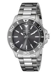 Invicta Men's 21377 Pro Diver Quartz 3 Hand Charcoal Dial Watch