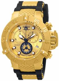 Invicta Men's 15802 Subaqua Quartz Chronograph Gold Dial Watch