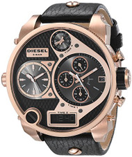 Diesel Men's DZ7261 The Daddies Series Analog Display Analog Quartz Black Watch