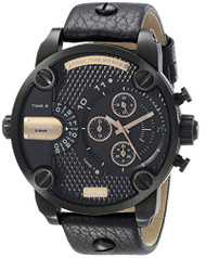 Diesel Men's DZ7291 Little Daddy Analog Display Analog Quartz Black Watch