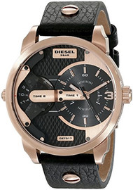 Diesel Men's DZ7317 Mini Daddy Analog Display Analog Quartz Black Watch