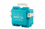 Invicta 3 Three Slot Aqua Limited Edition Impact Dive Collector Case Aqua3
