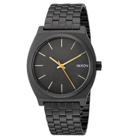 Nixon Men's 'Time Teller' Quartz Metal and Stainless Steel Watch, Color:Black (Model: A0451032-00) …