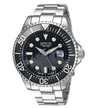 Invicta Men's 'Pro Diver' Quartz Stainless Steel Casual Watch, Color:Silver-Toned (Model: 90286)
