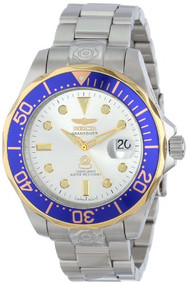 Invicta Men's 13788 Pro Diver Silver Dial Stainless Steel Automatic Watch Inv...