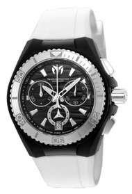 Technomarine Unisex TM-115051 Cruise Original Quartz Chronograph Black Dial Watch