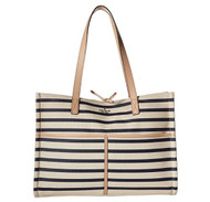 Kate Spade New York Women's Washington Square Mega Sam Rich Navy Stripe One Size PXRU8568-461
