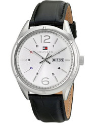 Tommy Hilfiger Men's 1791060 Analog Display Quartz Black Watch