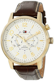 Tommy Hilfiger Men's 1791082 Analog Display Quartz Brown Watch