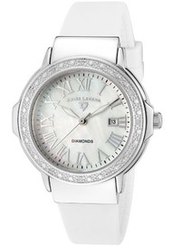 Swiss Legend Women's 20032D-02 South Beach Collection Stainless Steel, Whit...