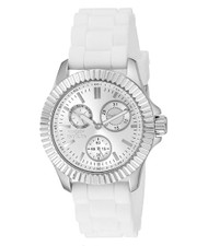 Invicta Women's 'Angel' Quartz Stainless Steel Casual Watch (Model: 22101)