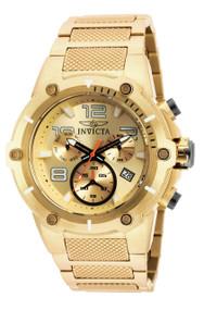 Invicta Men's 19529 Speedway Quartz Chronograph Gold Dial Watch