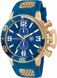 Invicta  Men's 10505 Corduba Quartz Multifunction Blue Dial Watch