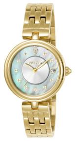 Invicta  Women's 22962 Gabrielle Union Quartz 3 Hand White Dial Watch