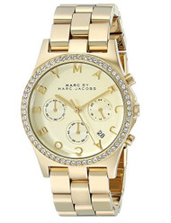 Marc by Marc Jacobs Women's MBM3105 Henry Gold-Tone Stainless Steel Bracelet Watch