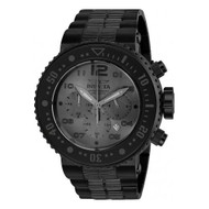 Invicta  Men's 25079 Pro Diver Quartz Chronograph Gunmetal Dial Watch