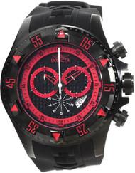 Invicta 12690 Men's Excursion Quartz Chronograph Red Dial Watch