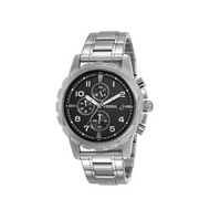 Fossil Men's FS4542 Dean Silver-Tone Stainless Steel Chronograph Watch …