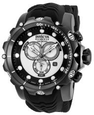 Invicta Men's 20398 Venom Quartz Chronograph White, Black Dial Watch