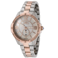 Invicta Women's 0265 II Collection 18k Rose Gold-Plated and Stainless Steel W...