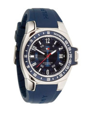 Tommy Hilfiger Men's 1790483 Blue Rubber Watch
