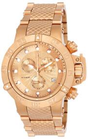 Invicta Women's 23178 Gabrielle Union Quartz 3 Hand Rose Gold Dial Watch