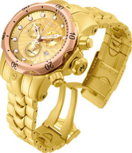 Invicta Boy 13895 Venom Quartz Chronograph Gold Dial Watch