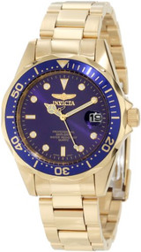 Invicta Men's 8937 Pro Diver 18k Gold Ion-Plated Bracelet Watch [Watch] Inv...