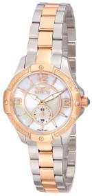 Invicta Women's 0265 Angel Quartz 3 Hand White Dial Watch