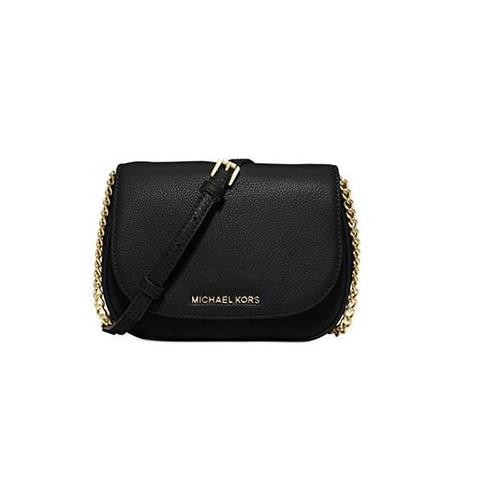 62c3a9cd3073 ... Michael Kors Bedford Md Saddle Bag - Black 30T6SBFM2L-001. Image 1