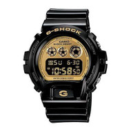 Casio - G-Shock - Mirrored Style - DW6900-CB Series - Black w/ Gold Face , On...