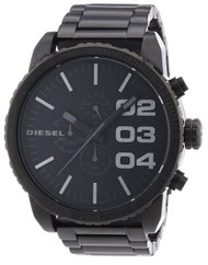 Diesel Herren-Armbanduhr XL Franchise-51 Chronograph Quarz Edelstahl DZ4207
