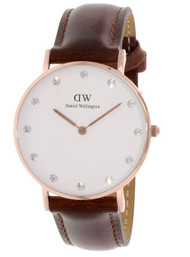 Daniel Wellington Women's 0950DW Classy St Mawes Analog Display Quartz Brown Watch