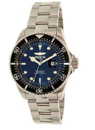 Invicta 22054 Gent's Pro Diver Blue Dial Steel Bracelet Dive Watch …