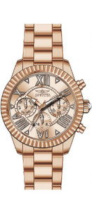 Invicta Women's 'Angel' Quartz Stainless Steel Casual Watch, Color:Rose Gold-Toned (Model: 21424) …