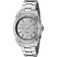 Invicta Women's 0458 Angel Collection Stainless Steel Mother-of-Pearl Watch I...