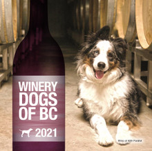 Winery Dogs of BC 2021 Calendars (Wholesale orders welcome - min 30 units)