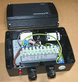 SA-SPM7 Starter for 0.75 kW single phase 3 wire & earth Grundfos MS402 motor