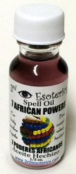 7 African Powers Spell Oil
