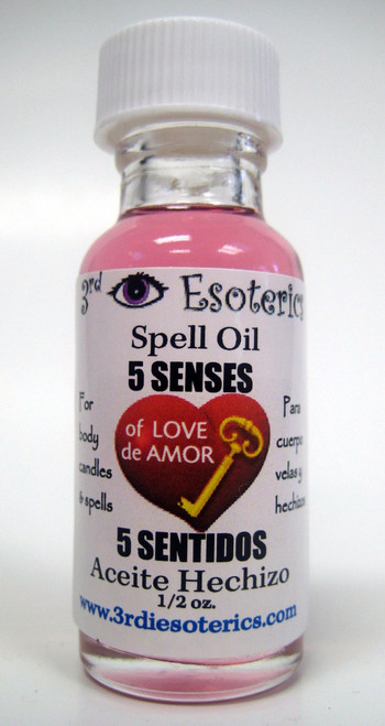 5 Senses Spell Oil