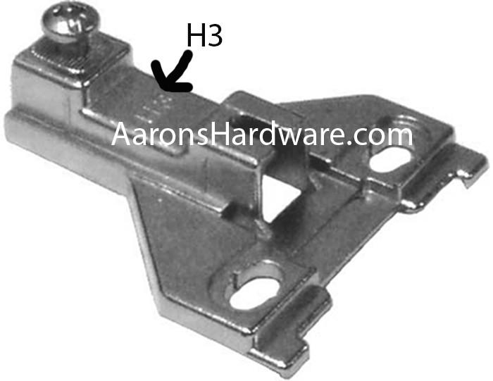 Ferrari 3mm H3 Cabinet Hinge Plate Pm1121fe25a Minimum Purchase 3