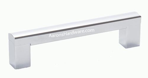 "35128-4PC Cabinet Handle Polished Chrome 128 mm ( 5 "" ) Hole Spacing"