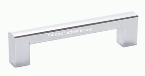 "35224-4PC Cabinet Handle Polished Chrome 224 mm ( 8.8 "" ) Hole Spacing"