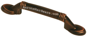 9660-ACBH-D Cabinet Handle Antique Copper Bronze HiLite